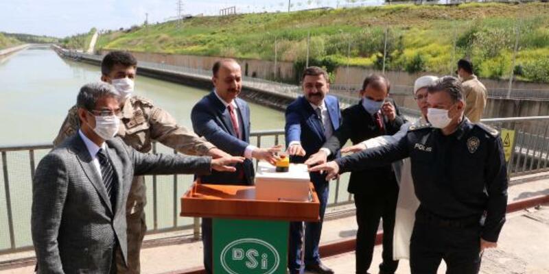 Atatürk Barajı'nın kapakları dualarla açıldı
