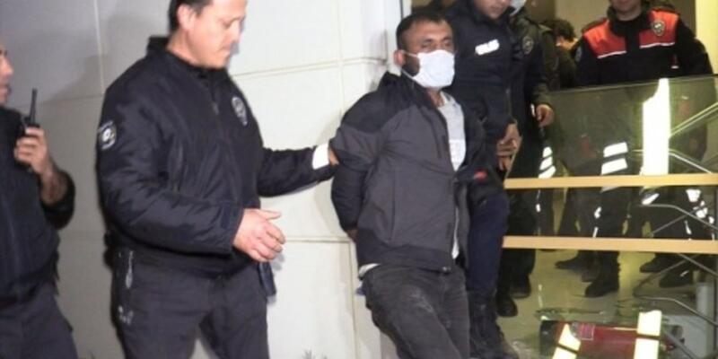"""Adana'da bankada yakalanan şüpheli: """"Benim adım felaket"""""""