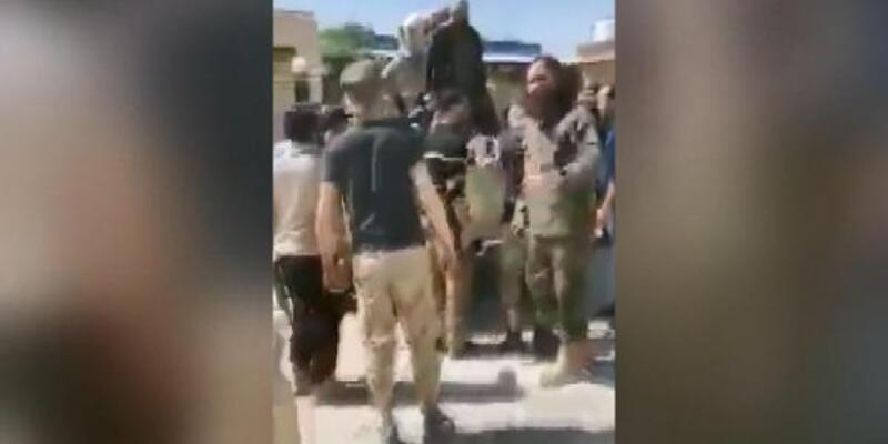 UMH Tarhuna'da Hafter'e bağlı milisleri böyle esir aldı