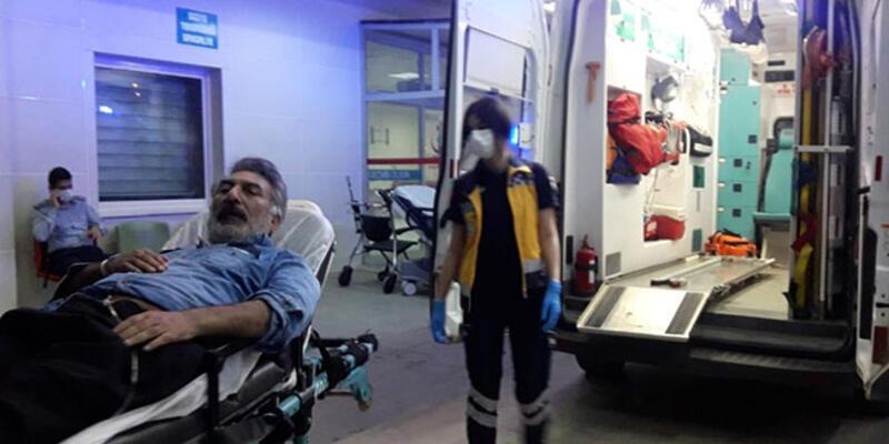 Kalp krizi geçiren kişinin imdadına polis yetişti