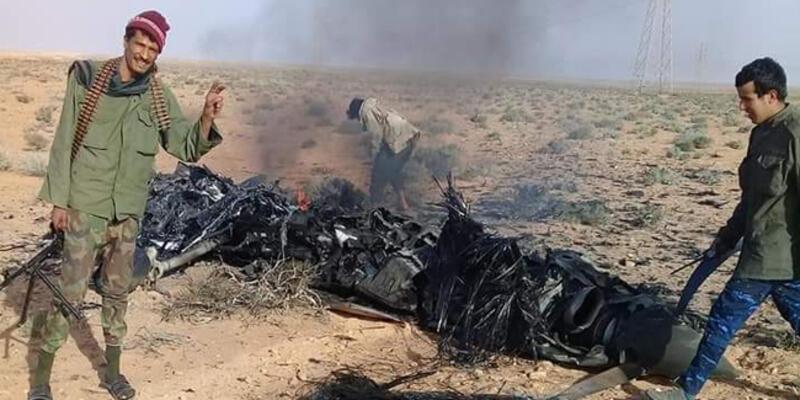"""Libya'daki hükümet güçlerinden """"BAE'ye ait İHA düşürdük"""" açıklaması"""