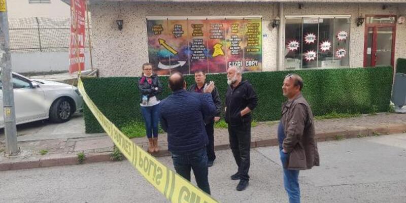 Yerel gazetenin binası kurşunlandı