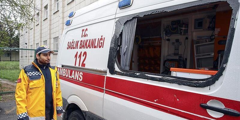 Pendik'te ambulansa saldıranlara 11,5 yıla kadar hapis istendi