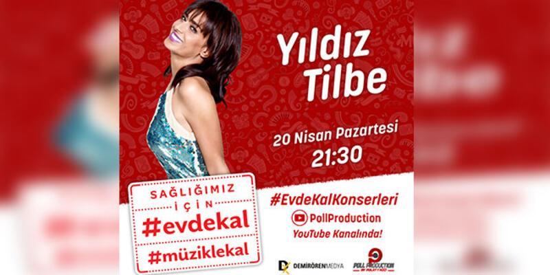 Yıldız Tilbe canlı yayını ve konseri ile moral olacak