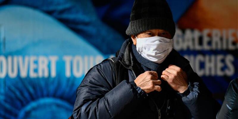 Fransa'da koronavirüsten can kaybı 20 bini geçti