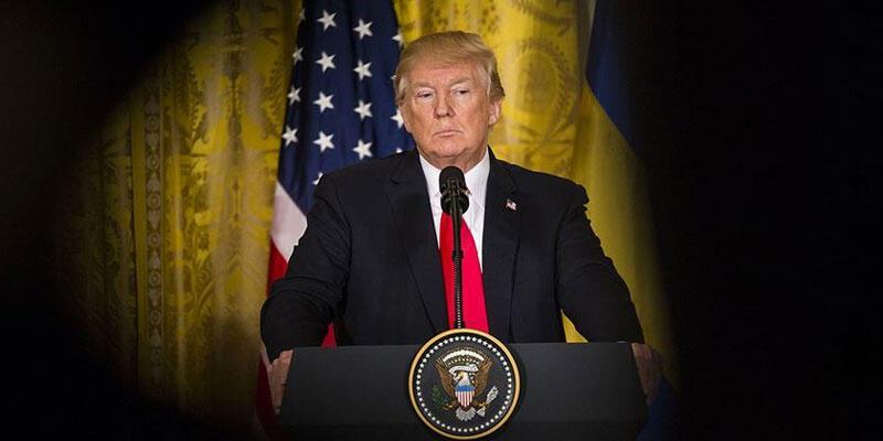 """Trump, eyalet valilerine yüklendi! """"Test kapasitesi"""" krizi"""