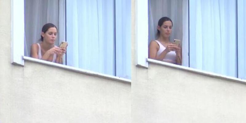 Mauricio Isla'nın eşi yurtta karantinada görüntülendi