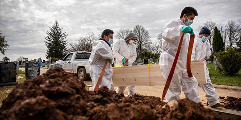 Son dakika... ABD'de koronavirüsten ölenlerin sayısı 42 bini geçti