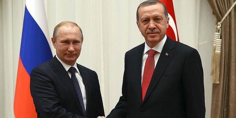 Cumhurbaşkanı Erdoğan, Putin ile telefonda görüştü