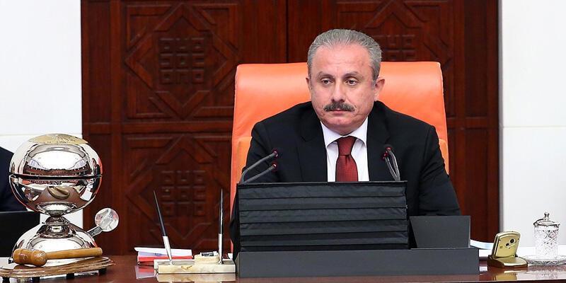 """TBMM Başkanı Şentop'tan """"23 Nisan özel oturumu"""" açıklaması"""