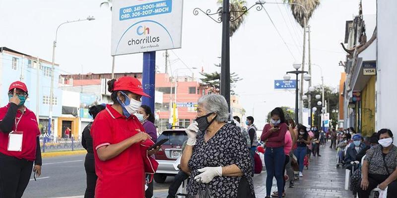 Peru'da Kovid-19'dan ölenlerin sayısı 484'e çıktı