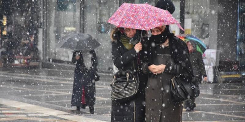 Hava durumu 22 Nisan: Batıda fırtına, doğuda kar!
