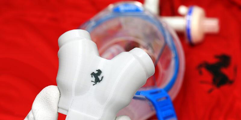 Ferrari dalış ekipmanını solunum cihazına dönüştürüyor
