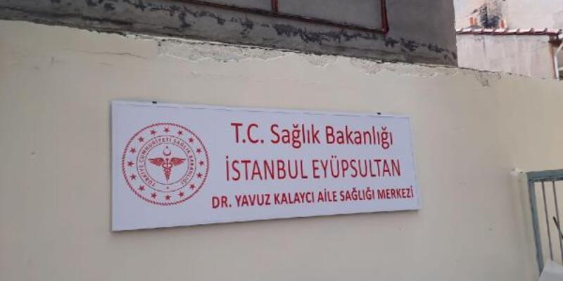 Sağlık Bakanı paylaştı; Koronavirüsten ölen Dr. Kalaycı'nın adı aile sağlık merkezine verildi