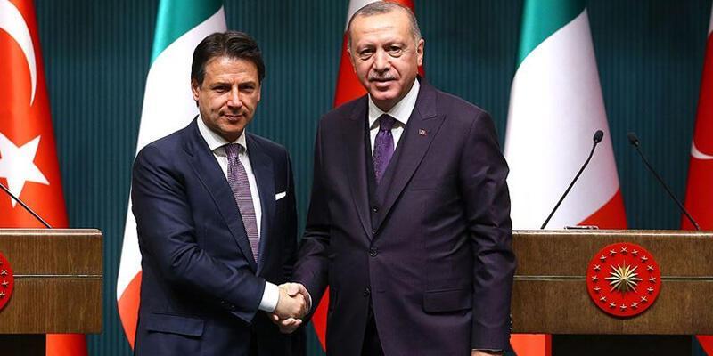 Erdoğan, İtalya Başbakanı Conte ile görüştü