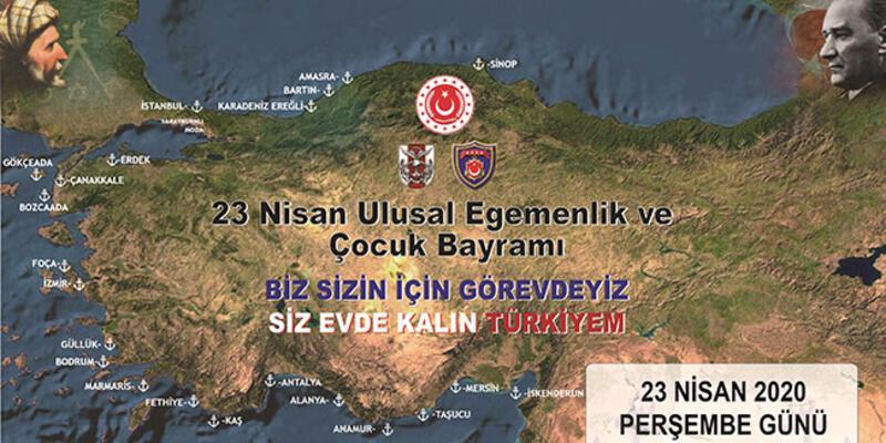 Deniz Kuvvetleri Komutanlığına ait gemilerden 23 Nisan'da İstiklal Marşı okunacak