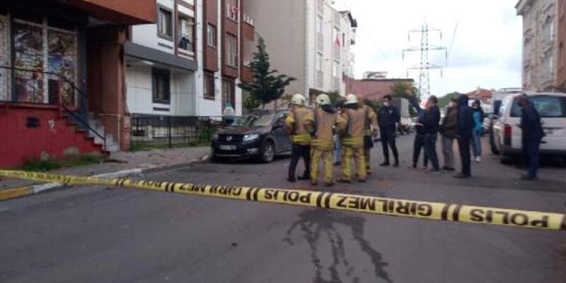 İstanbul'da 5 katlı apartmanın elektrik tesisatında patlama
