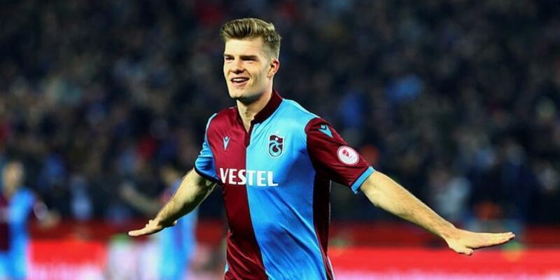 Alexander Sörloth Trabzon'a döndü