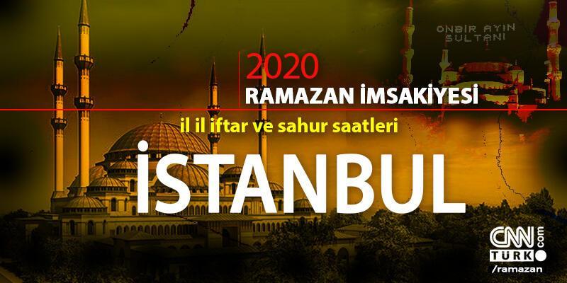 2020 İstanbul imsakiyesi: İstanbul sahur vakti saat kaçta, iftar saati ne zaman?