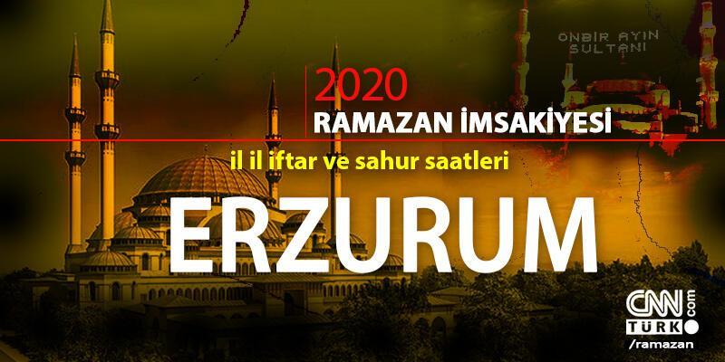 2020 Erzurum imsakiyesi: Erzurum sahur vakti saat kaçta, iftar saati ne zaman?