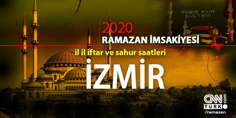 2020 İzmir imsakiyesi: İzmir sahur vakti saat kaçta, iftar saati ne zaman?