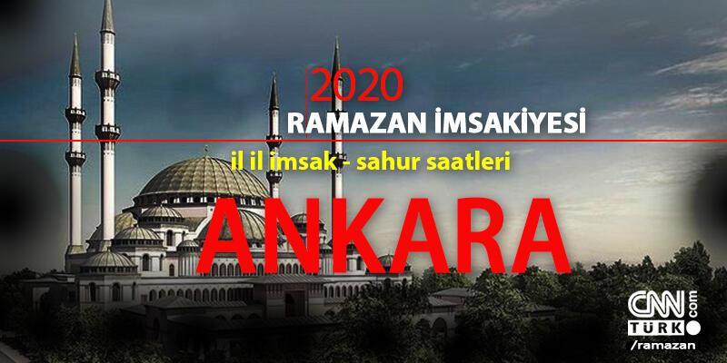 Ankara imsakiye 2020 Ramazan: 24 Nisan Ankara imsak saati