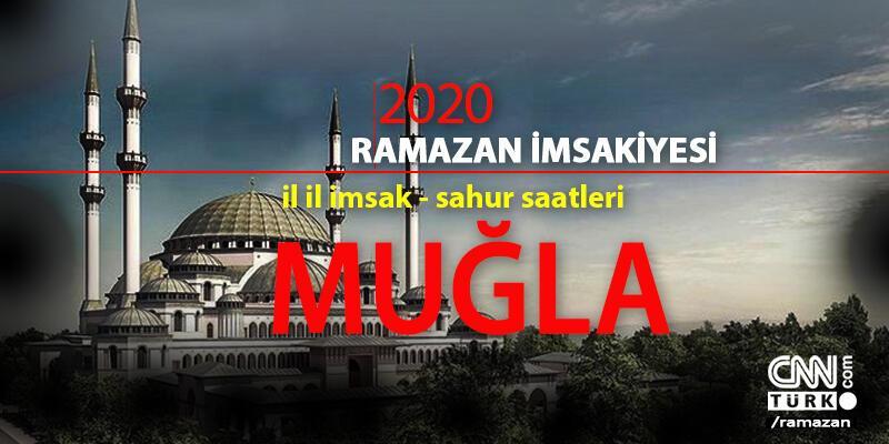 Muğla imsakiye: 2020 Ramazan - 24 Nisan Muğla imsak saati