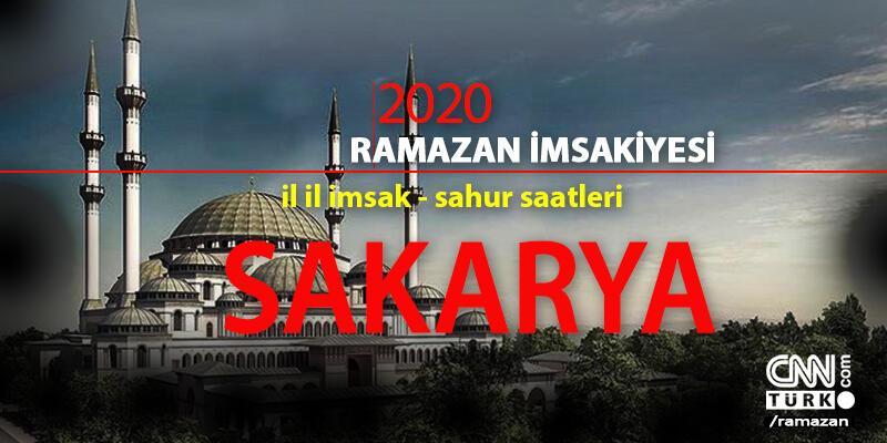 Sakarya imsakiye: 2020 Ramazan - 24 Nisan Sakarya imsak saati