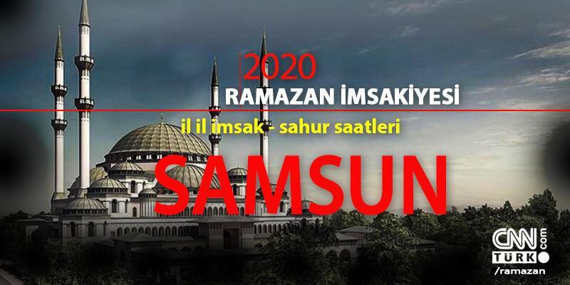 Samsun imsakiye: 2020 Ramazan - 24 Nisan Samsun imsak saati