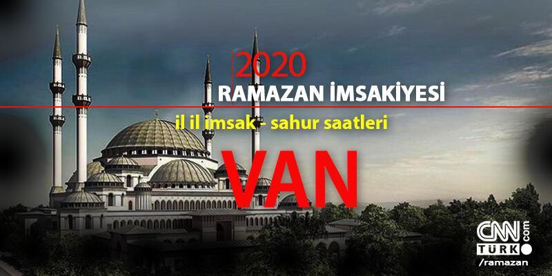 Van 2020 Ramazan imsakiyesi: Van imsak saati – 24 Nisan Cuma