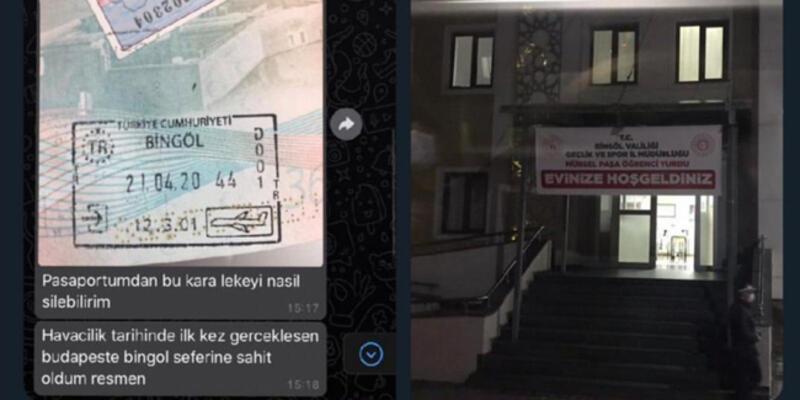 Bingöl'e getirilerek karantinaya alınan kişi hakkında paylaşımı nedeniyle soruşturma