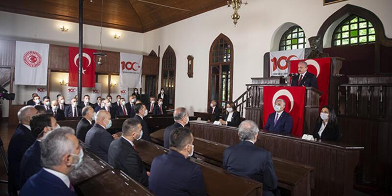 Birinci Türkiye Büyük Millet Meclisi'nde anma töreni