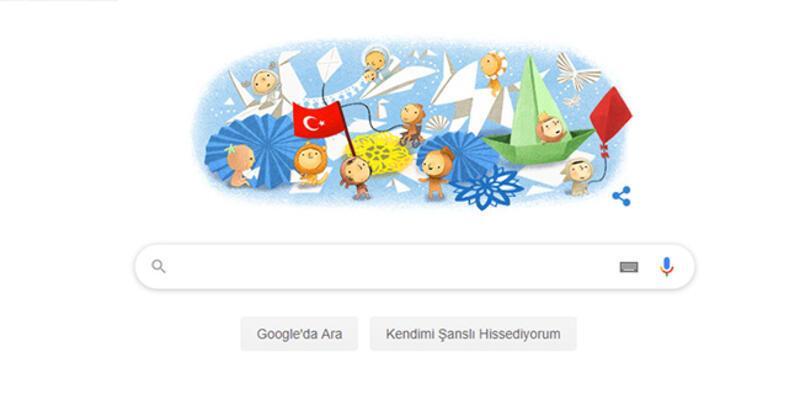 Google, 23 Nisan için özel logo hazırladı