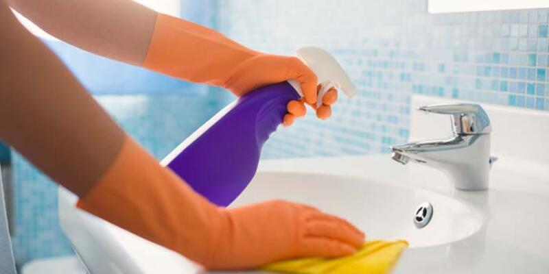 Dezenfeksiyon için kullanılan kimyasallar için uyarı