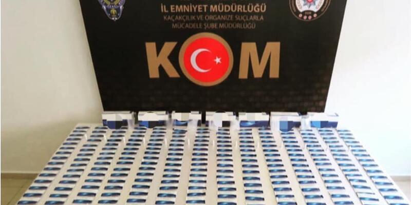 Konya'da 280 adet Covid-19testkiti yakalandı