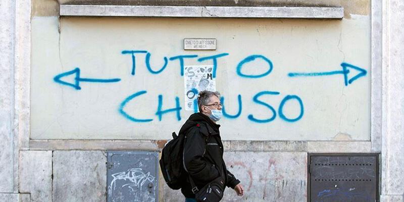 İtalya'da koronavirüsten can kaybı 25 bin 549 oldu