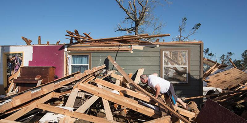 ABD'de şiddetli fırtına 7 can aldı