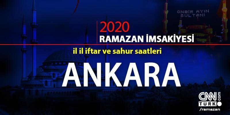 Ankara imsakiyesi 2020… Ankara iftar vakti ne zaman, akşam ezanı saat kaçta?