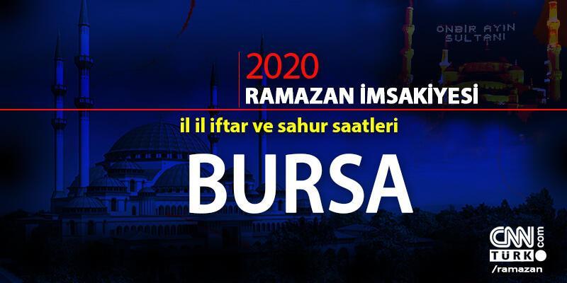 Bursa imsakiyesi 2020… Bursa iftar vakti ne zaman, akşam ezanı saat kaçta?