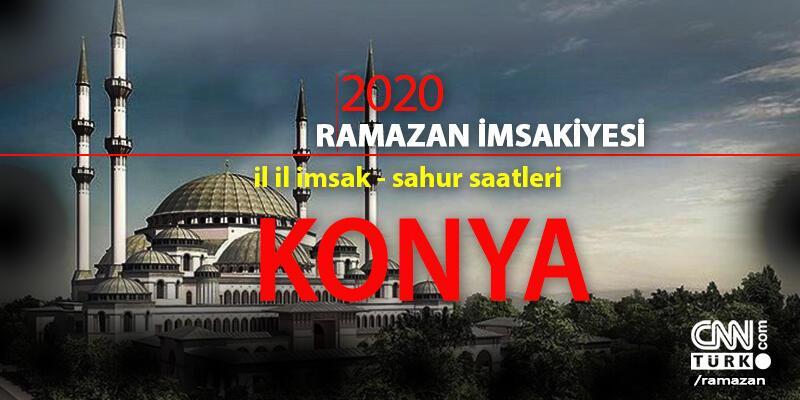Konya imsakiye 2020: Konya iftar vakti – Akşam ezanı 24 Nisan