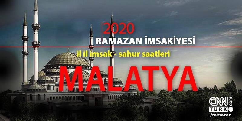 Malatya imsakiye 2020: Malatya iftar vakti – Akşam ezanı 24 Nisan
