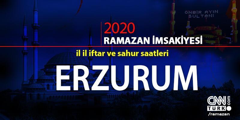 Erzurum imsakiyesi 2020: Erzurum iftar vakti ne zaman, akşam ezanı saat kaçta?