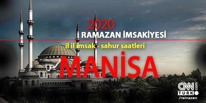 Manisa imsakiye 2020: Manisa iftar vakti – Akşam ezanı 24 Nisan
