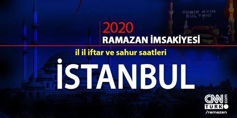 İstanbul imsakiye 2020: İstanbul iftar vakti saat kaçta? İstanbul akşam ezanı saati