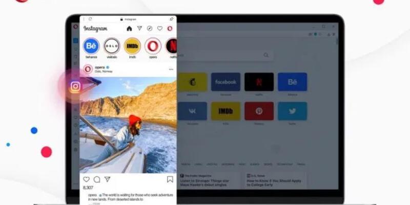 Opera fark yaratacak özellikler ekledi