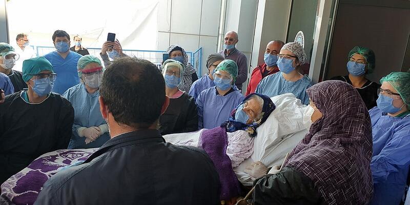 Koronavirüsü yenen 92 yaşındaki Bahriye Kaya, hayatını kaybetti