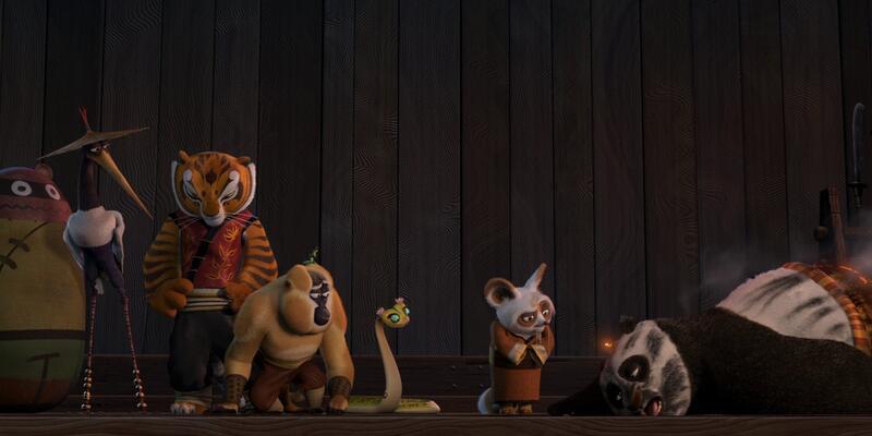 Kung Fu Panda 26 Nisan'da Kanal D'de