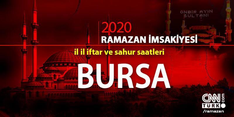 Bursa imsakiyesi 2020… 25 Nisan, Bursa iftar vakti ne zaman, akşam ezanı saat kaçta?
