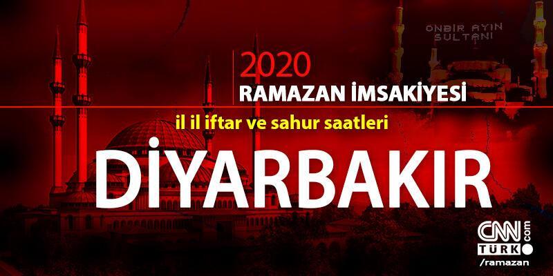 Diyarbakır imsakiyesi 2020… 25 Nisan Diyarbakır iftar vakti ne zaman, akşam ezanı saat kaçta?