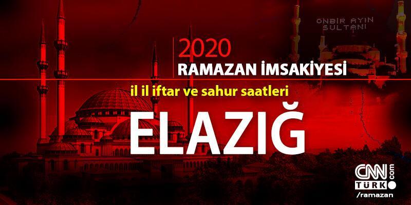 Elazığ imsakiyesi 2020… 25 Nisan, Elazığ iftar vakti ne zaman, akşam ezanı saat kaçta?